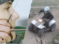 Quad Biking and  Archery for 2