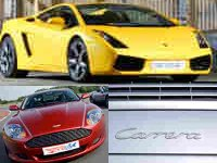 4 Supercar Taster - Your Choice! **SPECIAL**
