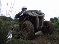 1 Hour Quad Challenge - 300cc 2-wheel drive for 3