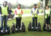 Segway tour in Poole Park