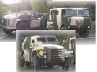 3 Military vehicle Experience for SIX